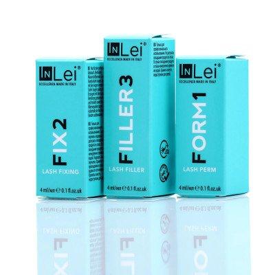 Купить набор составов In Lei №1,2,3 в баночке 4 ml для ламинирования ресниц