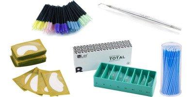 Аксессуары, материалы, инструменты для ламинирования ресниц